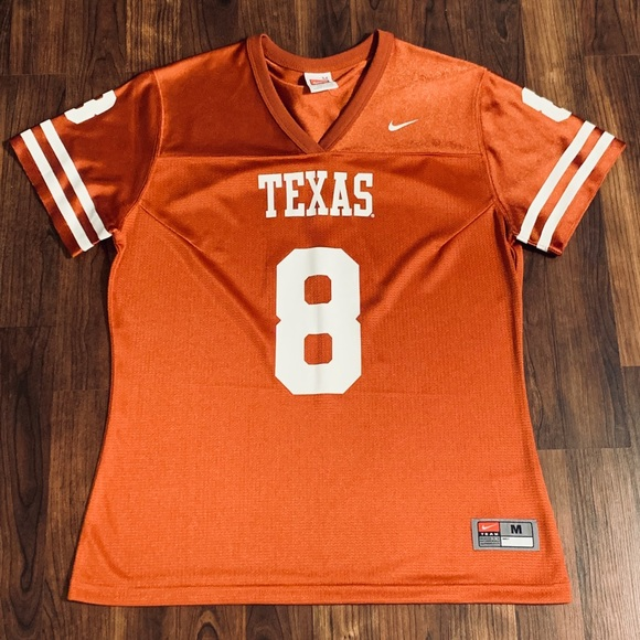 detailed look e890d d02e7 Nike Women's Texas Longhorns Football Jersey, #8 NWT